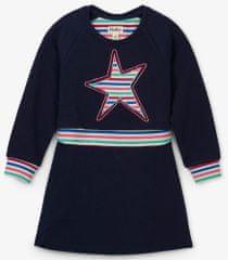 Hatley dievčenské šaty s hviezdičkou