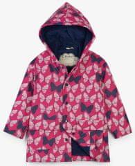 Hatley dívčí nepromokavý kabátek měnící barvy