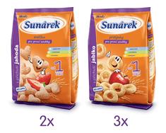 Sunárek Dětský snack mix karton L 5x50g