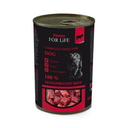 Fitmin konserwa dla psów Dog tin beef 400 g