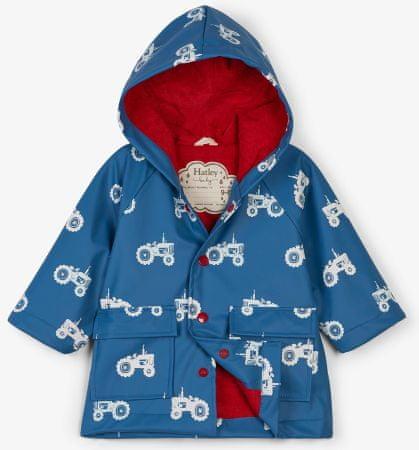 Hatley színváltós fiús vízálló kabát 74-80 kék