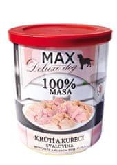 FALCO karma dla psów MAX deluxe mięso z indyka i kurczaka, 800 g