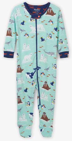 Hatley Kombinezon za dječake s arktičkim životinjama, tirkizan, 56 - 62