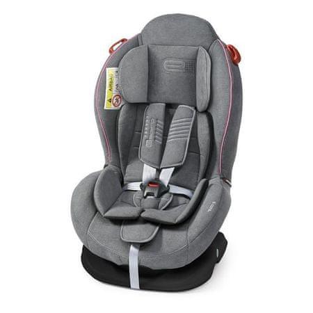 Espiro Delta sjedalica za automobil 08 gray&pink