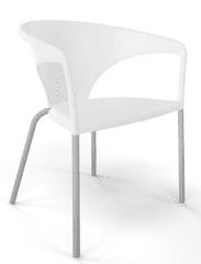 Emagra Plastová židle s područkami TERRASSE
