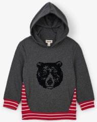 Hatley fiú melegítőfelső grizzly medvével