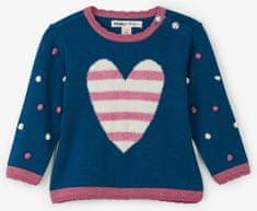 Hatley dievčenský sveter so srdiečkami