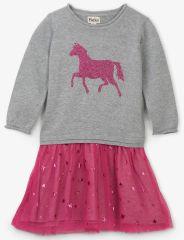 Hatley dievčenské šaty s koníkom