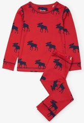 Hatley chlapčenské pyžamo so sobmi