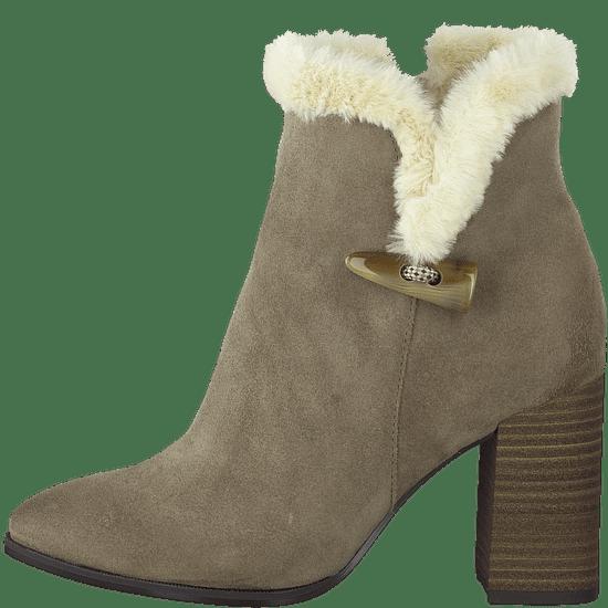 Tamaris dámská kotníčková obuv 26023 36 béžová
