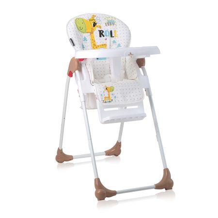 Lorelli Jídelní židlička OLIVER YELLOW HAPPY HIPPO