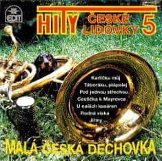 Malá česká dechovka: Hity české lidovky 5 - CD