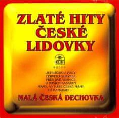Malá česká dechovka: Zlaté hity české lidovky - CD