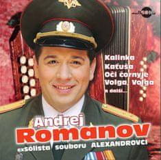 Romanov Andrej: Nejkrásnější ruské písně a romance - CD