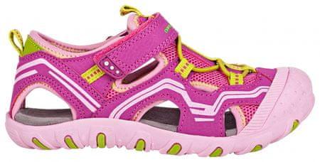 ALPINE PRO dívčí sandály Carneo růžová 25