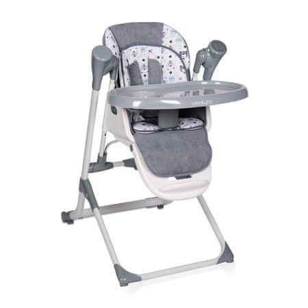Lorelli Jídelní židlička VENTURA GREY