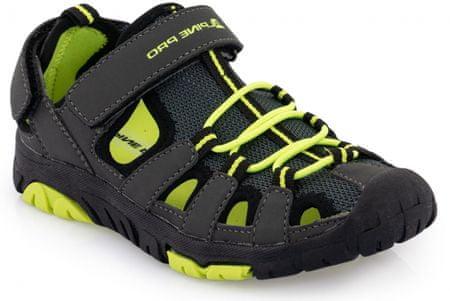 ALPINE PRO chlapecké sandály Kamo šedá 34