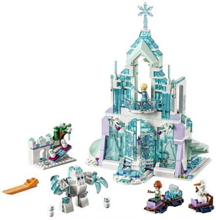 LEGO zestaw Disney Princess 43172 Elsa i jej magiczny pałac lodowy