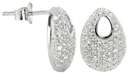 Silver Cat Ezüst fülbevaló SC108 kristályokkal ezüst 925/1000