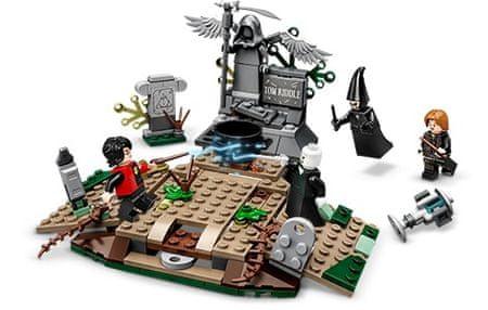 LEGO zestaw Harry Potter 75965 Powrót Voldemorta
