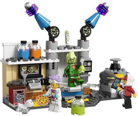 LEGO Hidden Side 70418 J. B. in njegov laboratorij poln duhov