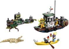 LEGO Hidden Side 70419 Régi halász bárka