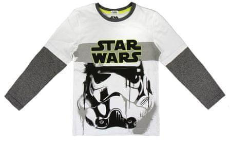 Disney chlapecké tričko Star Wars 110 bílá
