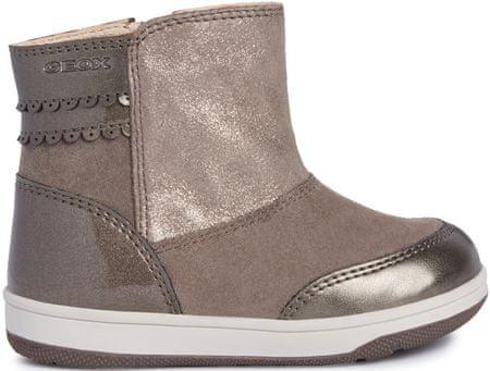 Geox New Flick dekliški zimski škornji, rjavi, 21