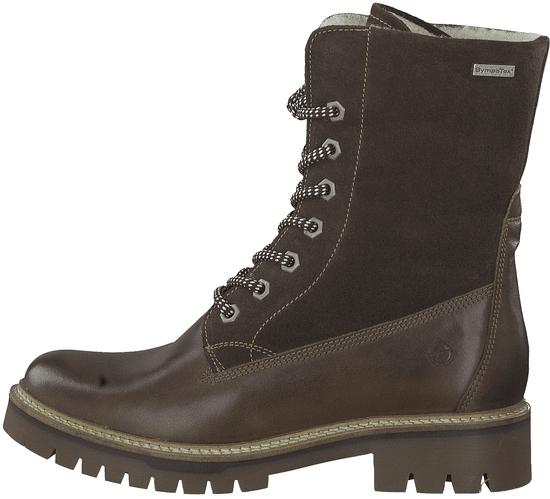 Tamaris dámská kotníčková obuv 26257 37 tmavě hnědá
