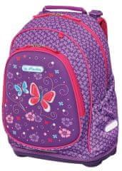 Herlitz Školský batoh Bliss Fialový motýľ