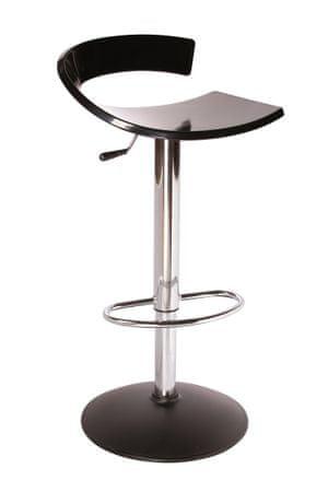 emagra Barová otočná židle SWING - černá