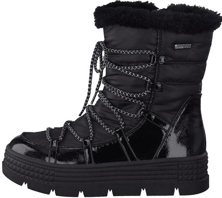 Tamaris śniegowce damskie 26431 37 czarne