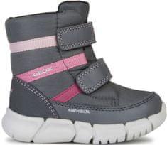 Geox dievčenské zimné topánky Flexyper