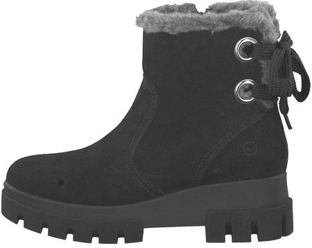 Tamaris dámská zimní kotníčková obuv 26473 37 černá