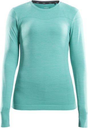 Craft Triko Fuseknit Comfort LS ženska športna majica, L, svetlo zelena