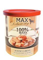 FALCO karma dla psów MAX deluxe kawałki chudego mięsa z wątróbką, 800 g