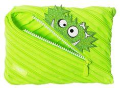Zipit Zipit Talking Monstar nagy méretű tolltartó / tok Bright Lime