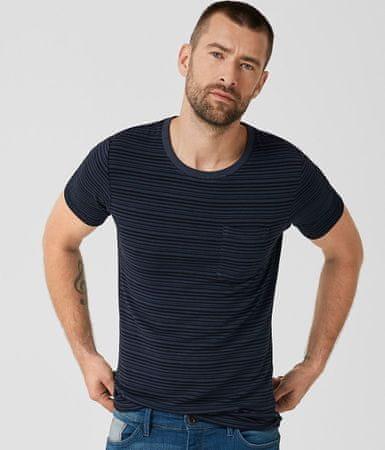 s.Oliver férfi póló L sötétkék