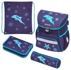 Herlitz Školská taška Loop Delfín - vybavená