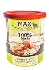 FALCO karma dla psów MAX deluxe kawałki chudego mięsa z flaczkami, 800 g
