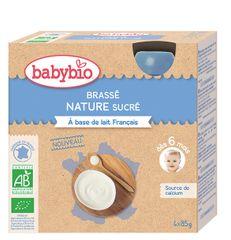 Babybio Mléčný dezert 4x85 g