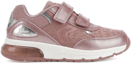 Geox dekliški svetleči čevlji Spaceclub, roza, 26