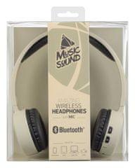 CellularLine BT Music Sound Bluetooth brezžične slušalke z mikrofonom