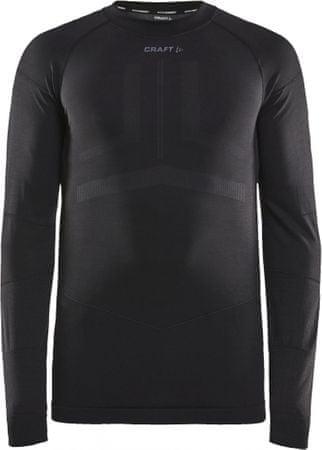 Craft Active Intensity moška majica z dolgimi rokavi, M, črna