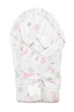 COSING otroška spalna vreča, srca, roza