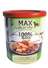 FALCO karma dla psów MAX deluxe kawałki chudego mięsa z dziczyzną, 800 g