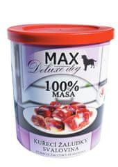 FALCO MAX deluxe kuřecí žaludky - svalovina 800g