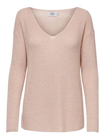 ONLY Dámsky sveter ONLBLANCA L / S Pullover KNT Pearl (Veľkosť S)
