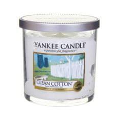 Yankee Candle Vonná sviečka Décor malý Čistá bavlna (Clean Cotton) 198 g