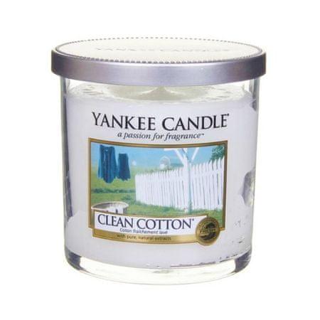 Yankee Candle Świeca Decor mały czystej bawełny (Clean Cotton) 198 g